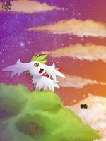 Skymin stars by Pand-ASS