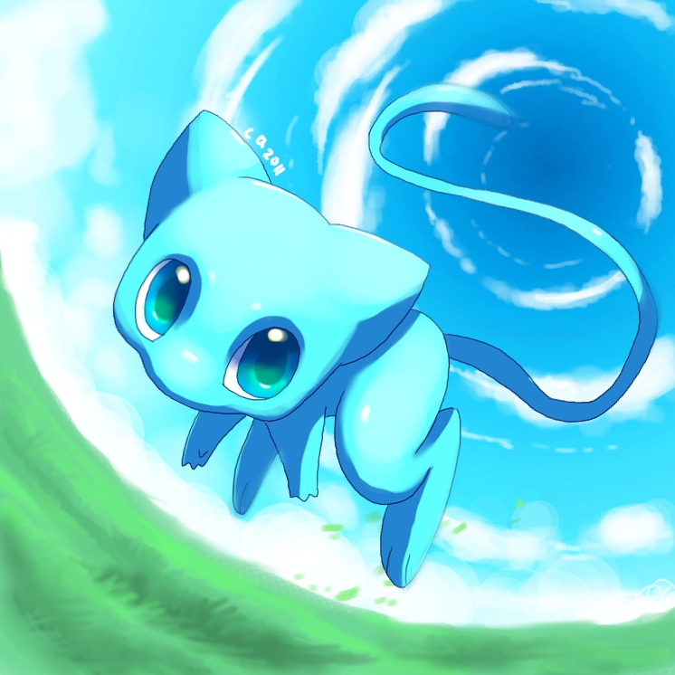 Shiny Mew by Pand-ASS on DeviantArt