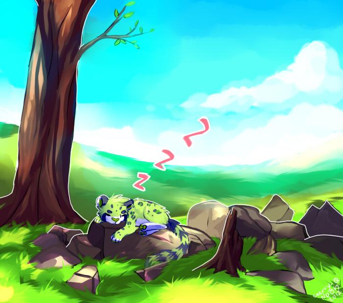 Sleepy medows by Pand-ASS