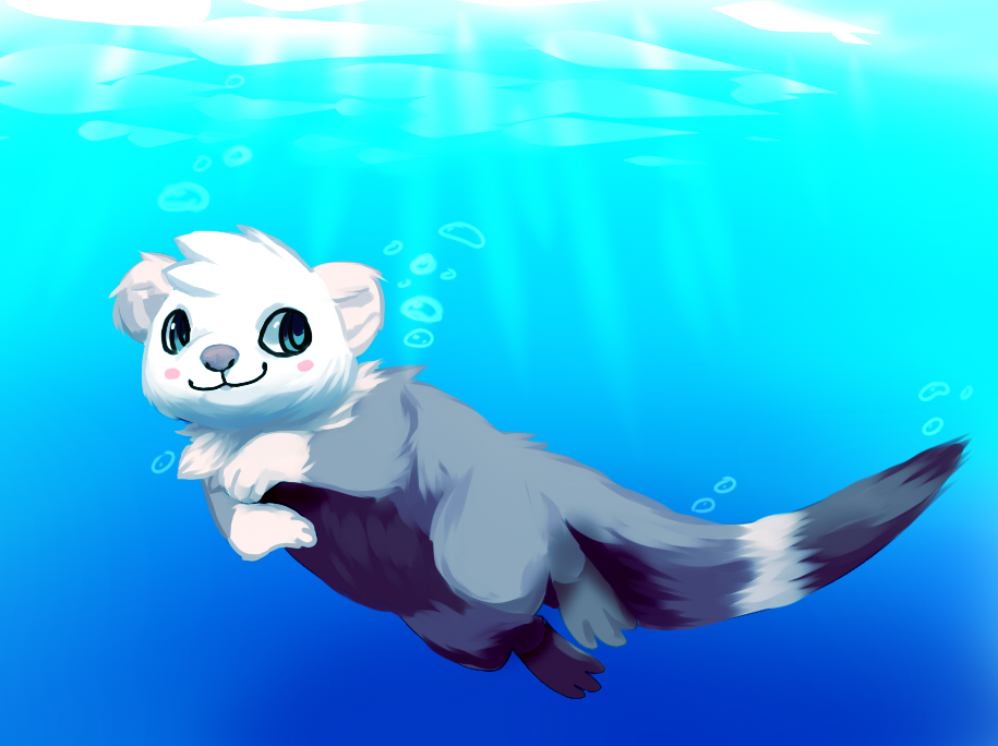 Otter sea by Pand-ASS
