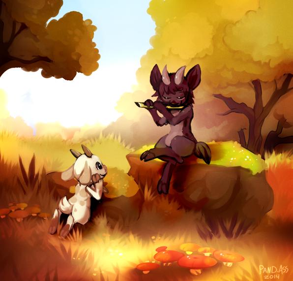 Autumn melody by Pand-ASS