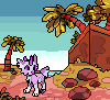 Tiny beach by Pand-ASS