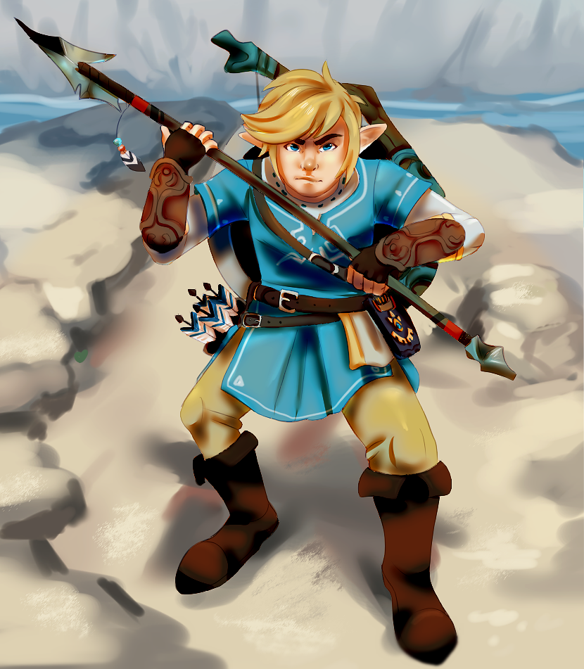 The Legend of Zelda Breath of the Wild by Pand-ASS