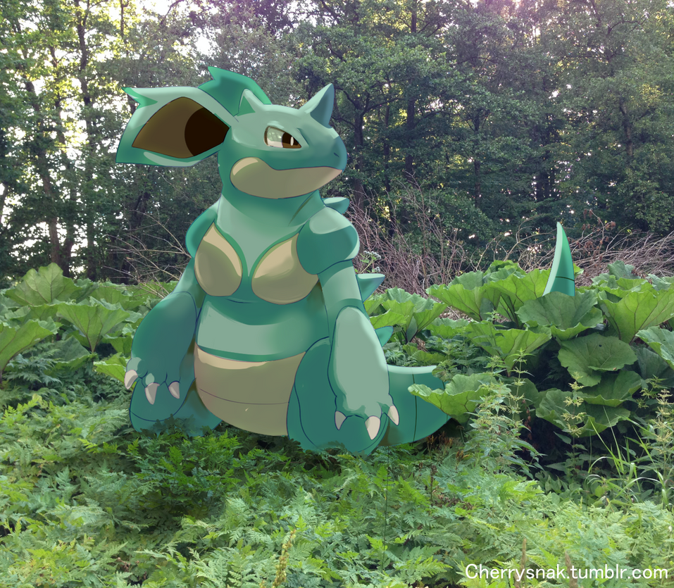 Nidoqueen spoted by Pand-ASS