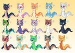 Snake cats for sale: 3/15 OPEN
