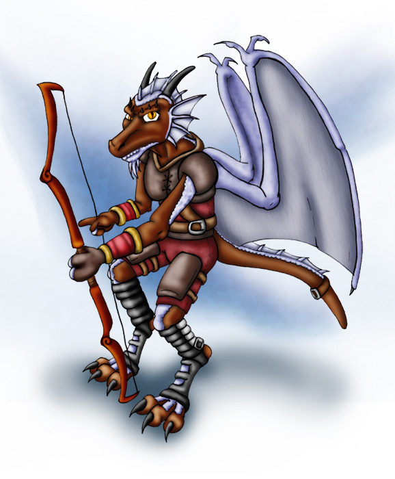 Set'Rial-Silverwrought Kobold by hunterbahamut