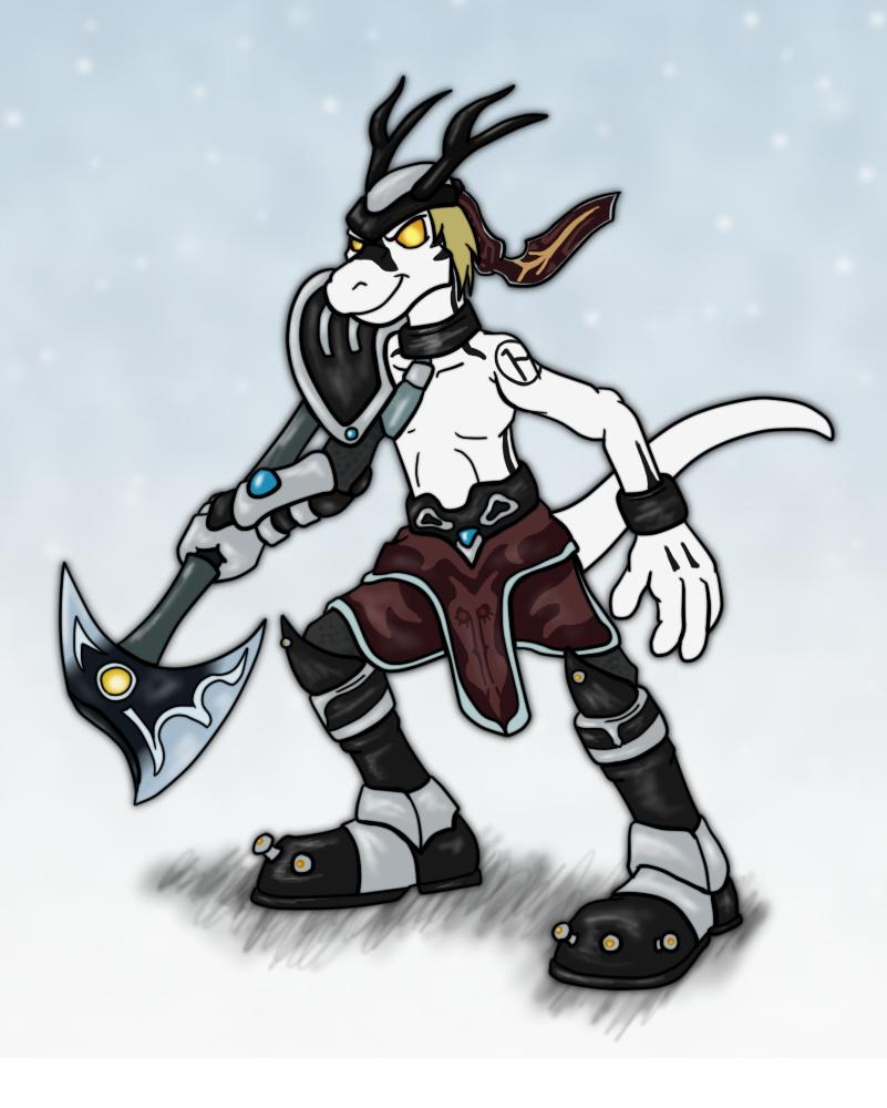 Dreadknight Casper by hunterbahamut