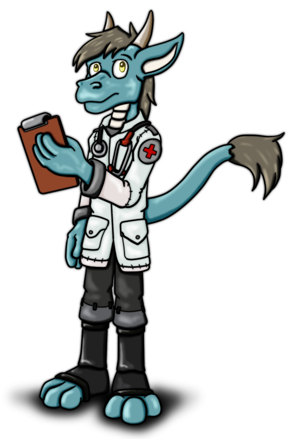 Commission - Wasteland Doctor by hunterbahamut