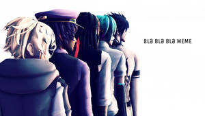 MMD - Bla bla bla GiGi Original Motion + DL