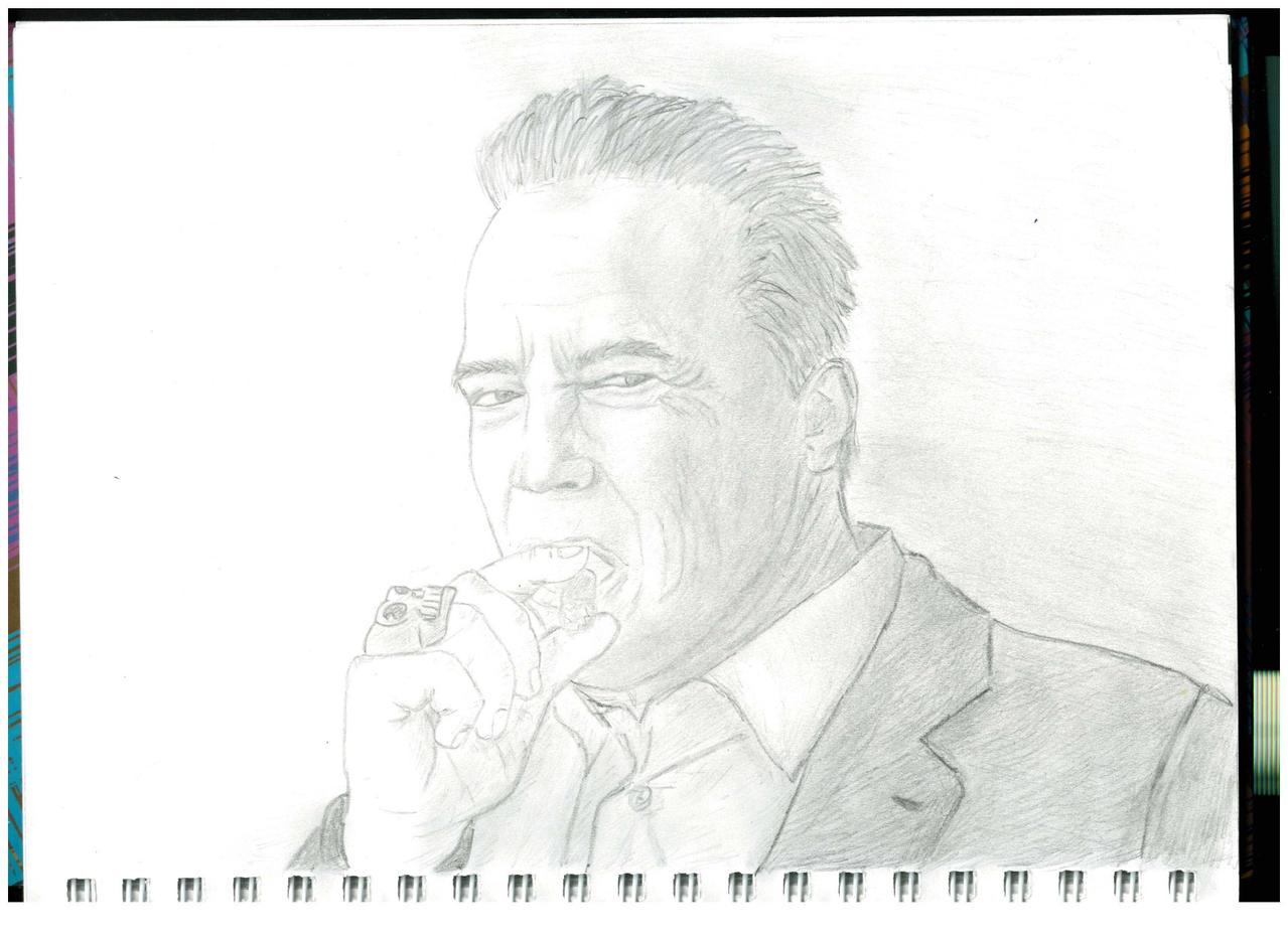 Arnold Schwarzenegger by Not-Sleeping-Owl