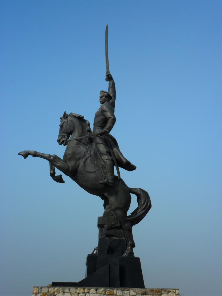 A monument to don Cossacks. by Not-Sleeping-Owl