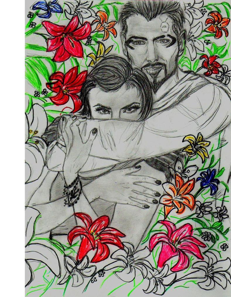 Adam and Faridah by Not-Sleeping-Owl