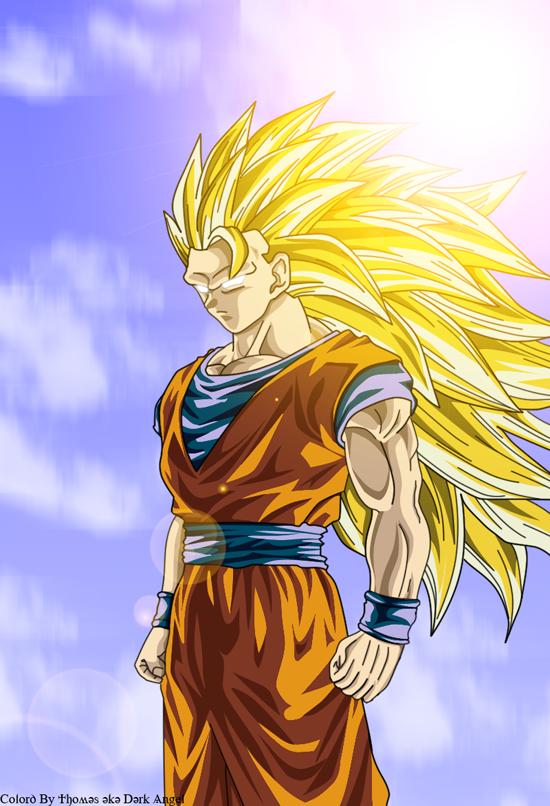 Goku SSJ 3 by DarkAngelAmv