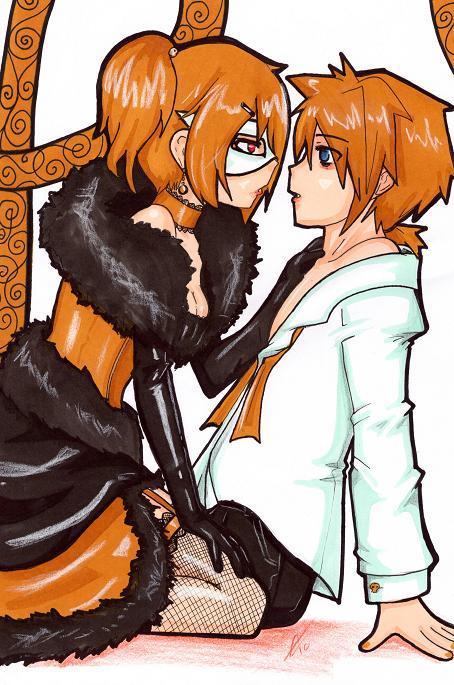 Cantarella Rin and Len by Captain-Puppybutt