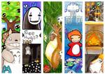 Ghibli Bookmarks