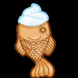 Taiyaki Ice Cream Cone
