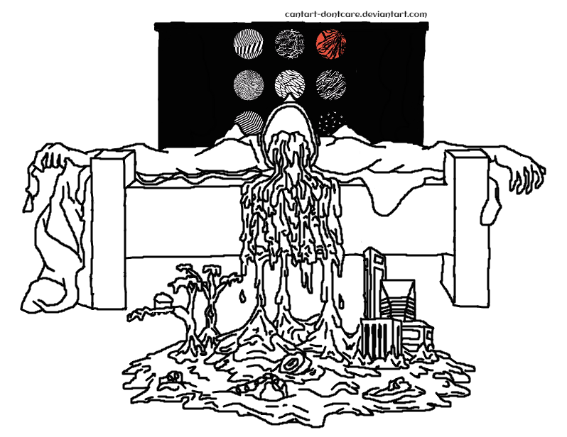Twenty one pilots blurry face coloring pages coloring pages for Twenty one pilots coloring pages