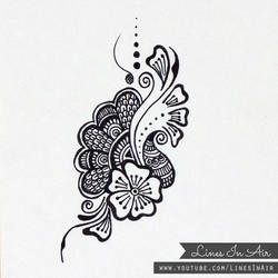 Henna Design/Doodle by LinesInAir