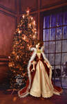 Beauty and the Beast - Belle Christmas Outfit 1 by MoonbowDoll