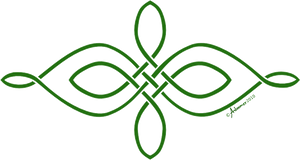 Simple horizontal celtic knot by adoomer