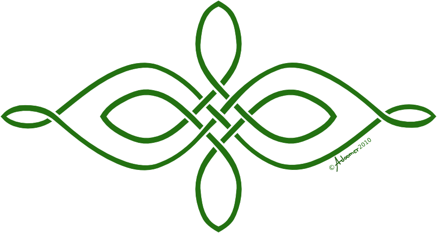 Simple Horizontal Celtic Knot By Adoomer On Deviantart