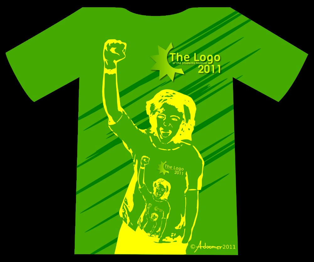 Shirt design green -  Green T Shirt Design By Adoomer
