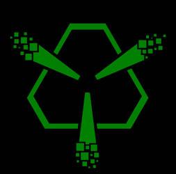 Abstract cyberpunk t-shirt design WIP by adoomer
