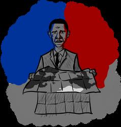 'Quo vadis, America?' illustration by adoomer