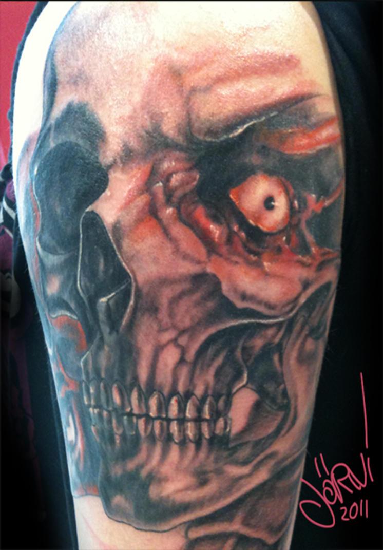 scull totenkopf tattoo by ~joern-reiners on deviantART