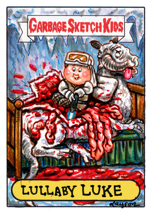 Luke - Garbage Pail Kids style by DeJarnette