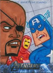 Upper Deck Avengers movie sketch card