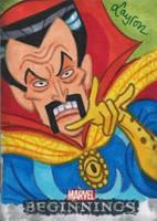 Doctor Strange Marvel Beginnings 2 sketch card by DeJarnette