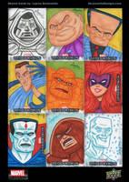 Marvel Beginnings Series 2 sketch cards 02 by DeJarnette