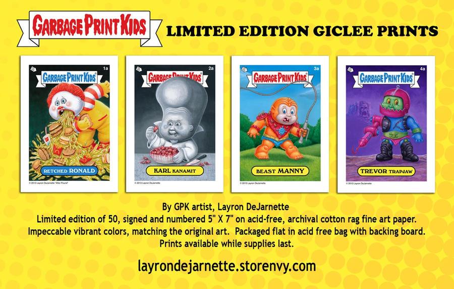 GPK Limited Edition Giclee Prints ON SALE!!! by DeJarnette