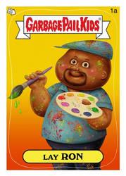 My Faux Self Portrait GPK Card!
