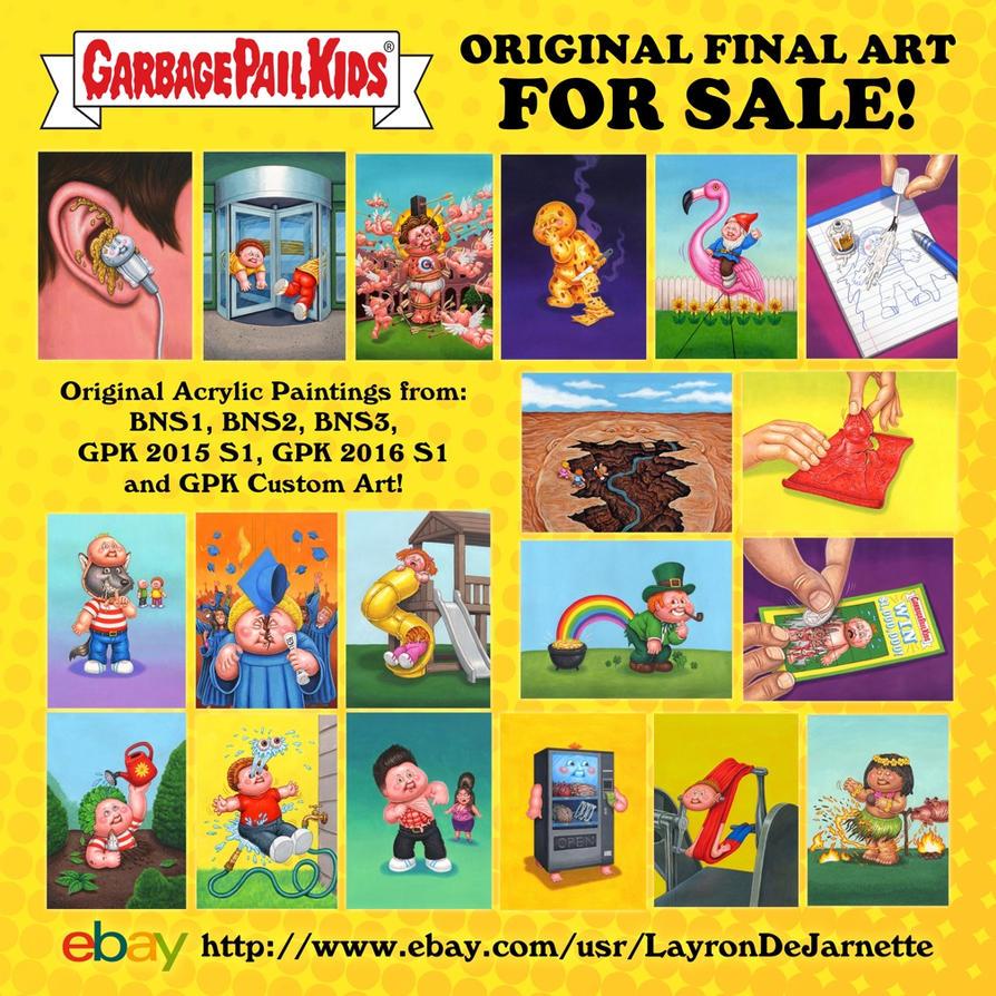 Original gpk final art for sale by dejarnette on deviantart for Original artwork for sale online