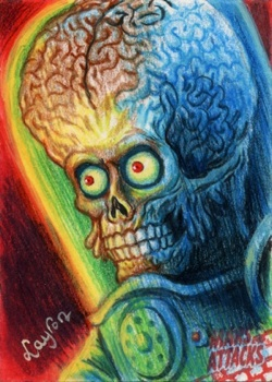 FOR SALE: Mars Attacks Occupation Artist Proof 2 by DeJarnette
