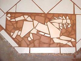 Ratha hearth mosaic by rathacat