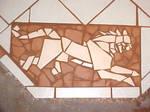 Ratha hearth mosaic