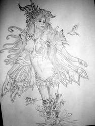 Elfa z Perfect World by KaoriArt