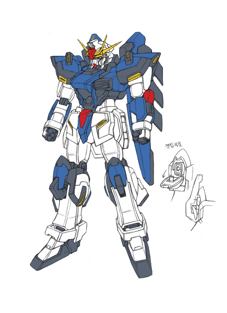 TSX-05 A Gundam by csy5150