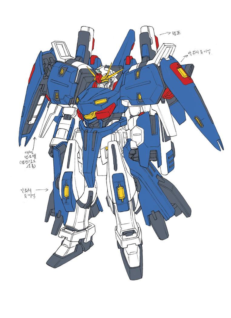 TSX-05T A Gundam - Twin ACCEL by csy5150