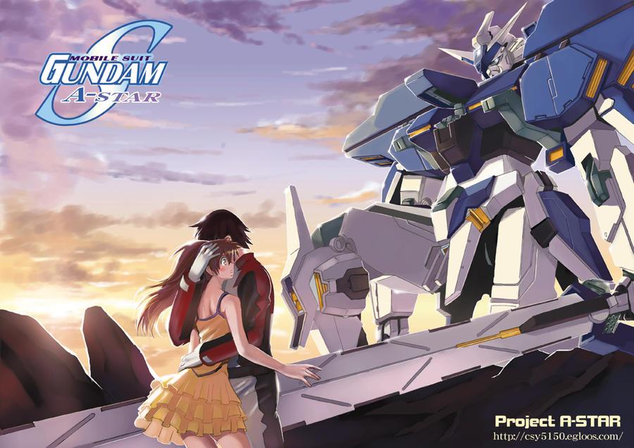 Gundam SEED A-STAR - FAITH by csy5150