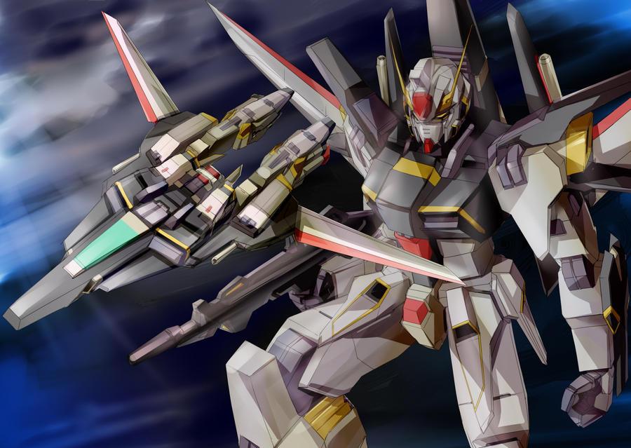 Gundam SEED A-STAR - TSX-04S SADAHAM-3 by csy5150