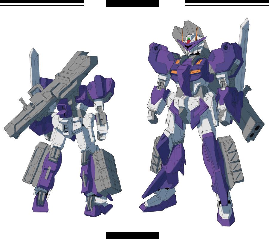 Gundam SEED A-STAR - FTX-02 SABARUN by csy5150