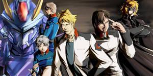 Gundam SEED A-STAR - TEAM PURPLE ROSE