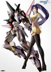 Gundam SEED A-STAR - Diana Lee N TSX-04S SADAHAM by csy5150