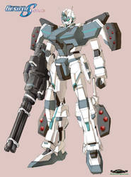 Gundam SEED A-STAR - TTSX-GS11 KASANAAT-ARMED by csy5150