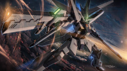 Gundam SEED A-STAR - OXB-00 ZERO-3 by csy5150