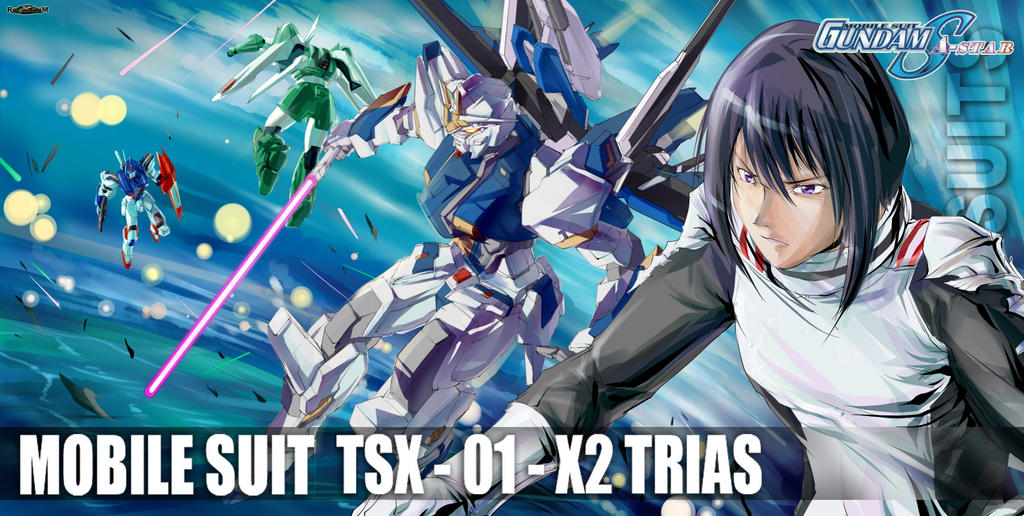Gundam SEED A-STAR - TSX-01-X2 TRIAS by csy5150